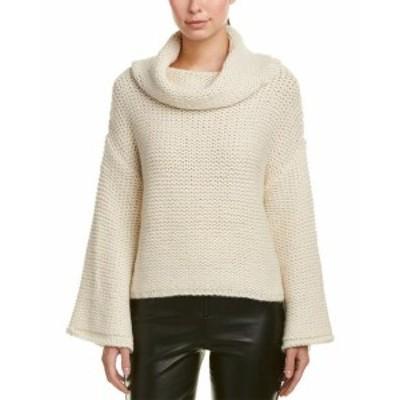 Alice + Olivia アリス+オリビア ファッション ドレス Alice + Olivia Vida Alpaca-Blend Sweater S White