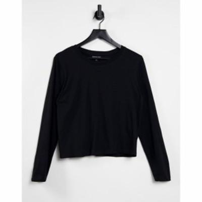ブレイブソウル Brave Soul レディース 長袖Tシャツ トップス Ellie Long Sleeve T-Shirt ブラック