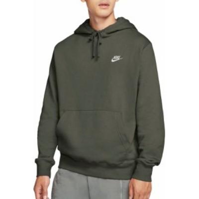 ナイキ メンズ Nike Men's Sportswear Club Fleece Hoodie パーカー TWILIGHT MARSH フーディー プルオーバー