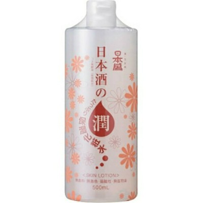 日本盛 日本酒のたっぷり保湿 化粧水 500ml