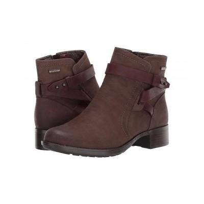 Rockport ロックポート レディース 女性用 シューズ 靴 ブーツ アンクル ショートブーツ Copley Strap Waterproof Boot - Stone