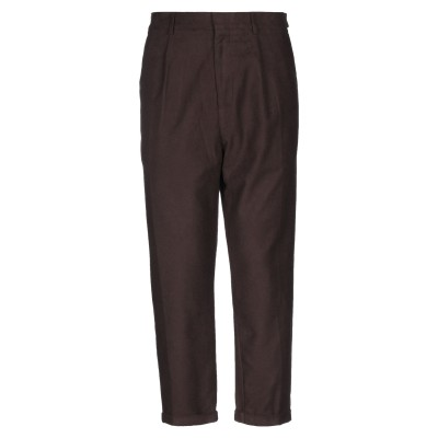 BAKERY SUPPLY CO. パンツ ダークブラウン S コットン 98% / ポリウレタン 2% パンツ