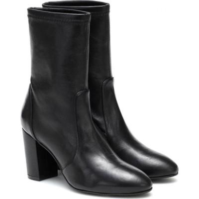スチュアート ワイツマン Stuart Weitzman レディース ブーツ ショートブーツ シューズ・靴 Yuliana leather ankle boots Black