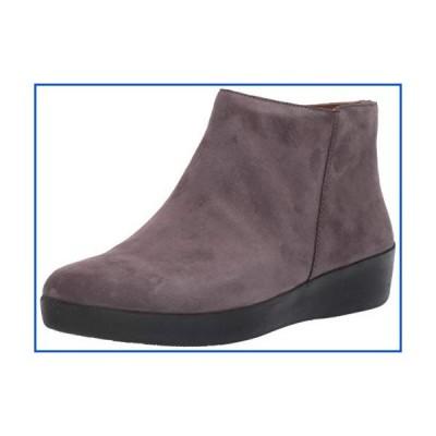 【新品】FitFlop Womens Sumi Steel Grey Sneaker - 7【並行輸入品】