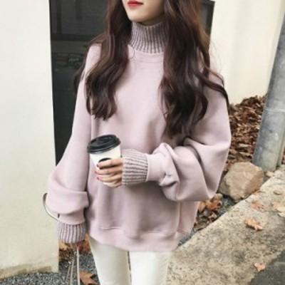レディース トップス セーター ニット ゆったり オーバーサイズ 韓国 韓国ファッション  厚手 防寒 お出かけ カジュアル 可愛い 秋冬 新