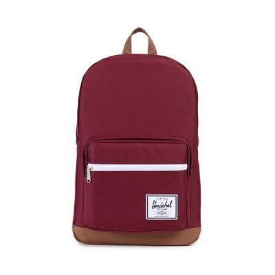 バッグ バックパック ハーシェルサプライ Herschel Supply Co. Pop Quiz Backpack in Windsor Wine/Tan Synthetic Leather