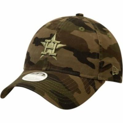 New Era ニュー エラ スポーツ用品  New Era Houston Astros Womens Camo Tonal Camo Core Classic 9TWENTY Adjustable Hat