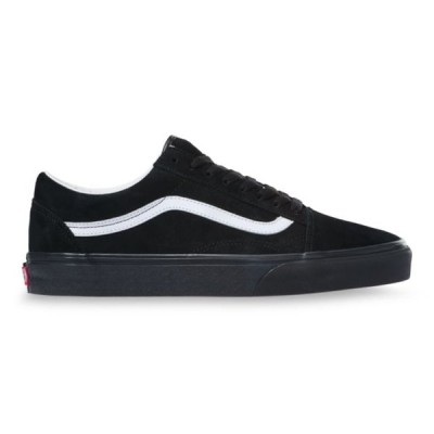 バンズ スニーカー 靴 メンズ オールドスクール ピッグスエード ブラック オールブラック スケートシューズ VANS OLD SKOOL PIG SUEDE BLACK VN0A4U3B18L