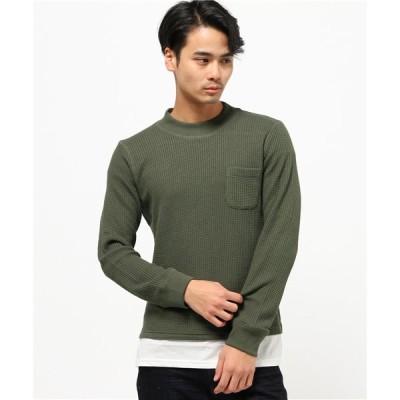 tシャツ Tシャツ VIBGYOR Select/ボトルネック  FAKE-LONG  ロンT /長袖 Tシャツ