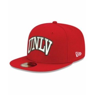 ニューエラ メンズ 帽子 アクセサリー UNLV Runnin Rebels AC 59FIFTY-FITTED Cap Red