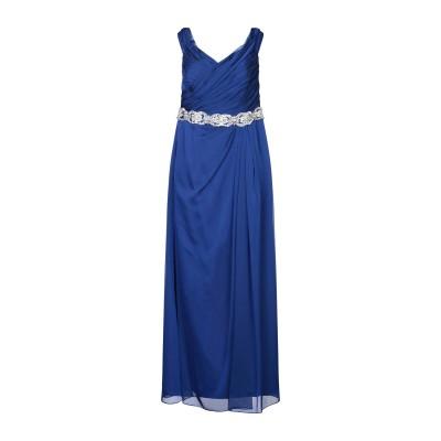 SYMPHONY of VENUS ロングワンピース&ドレス ブルー 50 ポリエステル 100% ロングワンピース&ドレス