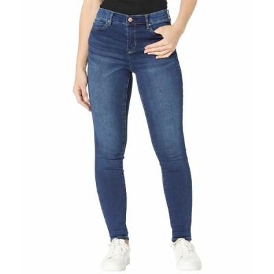 ニコールミラーニューヨーク デニムパンツ ボトムス レディース Knit Denim Cuff Skinny Jeans West Side