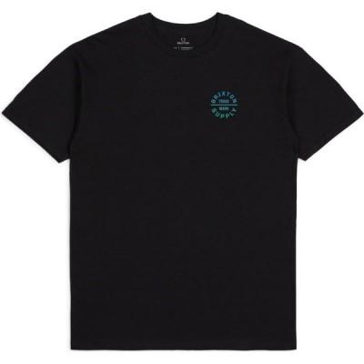 ブリクストン BRIXTON メンズ Tシャツ トップス Oath Graphic Tee Black/Grey