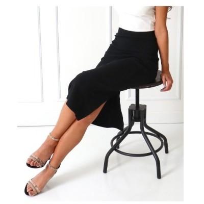 ANAP(アナップ)リブバックスリットナロースカート