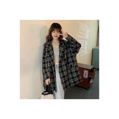 【送料無料】アウターウェア 女 春秋 年 韓国風 オーバーサイズ 風 学生 ルース 着やせ | 364331_A63763-4354755