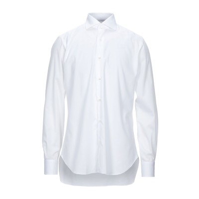 BARBA Napoli シャツ ホワイト 44 コットン 100% シャツ