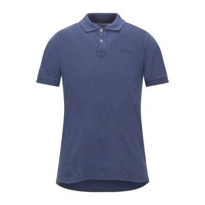 ロイ ロジャース ROŸ ROGER'S ポロシャツ パステルブルー S コットン 100% ポロシャツ