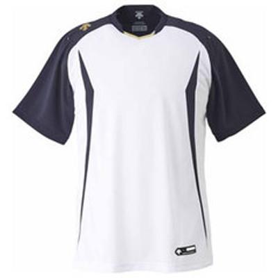 デサント ベースボールシャツ(SWSN・サイズ:XO) DESCENTE BASEBALL SHIRT(レギュラーシルエット) DS-DB120-SWSN-XO 【返品種別A】