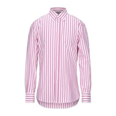 ブルネロ クチネリ BRUNELLO CUCINELLI シャツ ピンク M コットン 100% シャツ