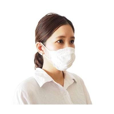 [ソワン] 洗える マスク 2枚セット 男女兼用 日本製 (ホワイト, 大人用小さめ)