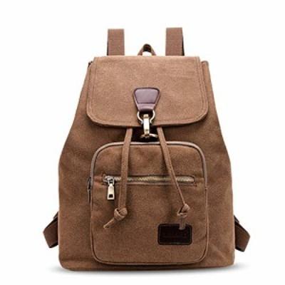 FANDARE 学生リュック メンズ レディース キャンバスバッグ A4サイズ収納可能 アンティーク 登山 バックパック 旅行バッグ カジュアル 通