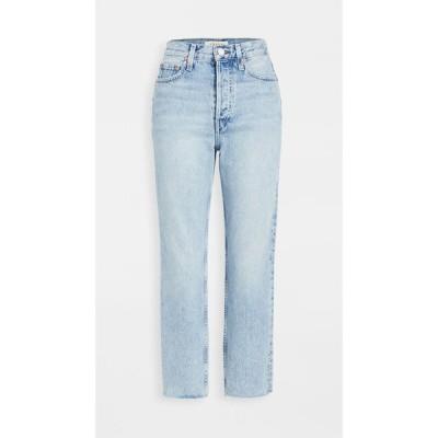 TRAVE レディース ジーンズ・デニム ボトムス・パンツ Harper Crop Slim Straight Bite Seam Jeans Graceland