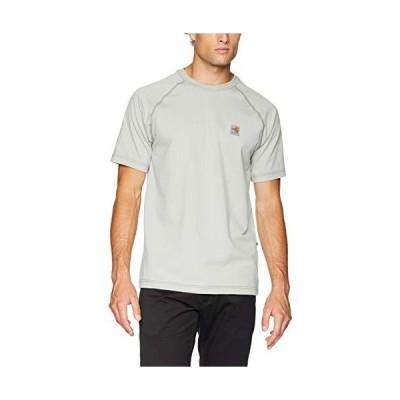 海外取寄品--Carhartt Men's Flame Resistant Force Short Sleeve T Shirt, Light Gra