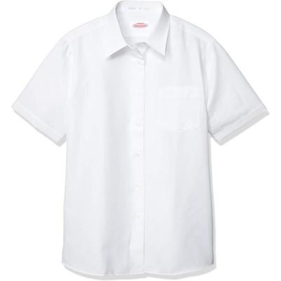 [トンボ学生服] ベトつき軽減スクールシャツ カラット 女子半袖 T-12-12 白 BS