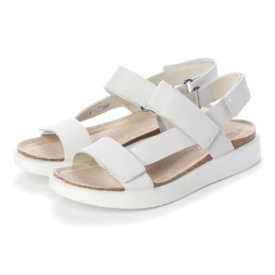 エコー ECCO CORKSPHERE SANDAL W Shoe (WHITE)