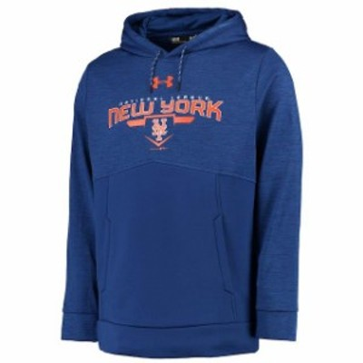 Under Armour アンダー アーマー スポーツ用品  Under Armour New York Mets Royal Novelty Pullover Hoodie