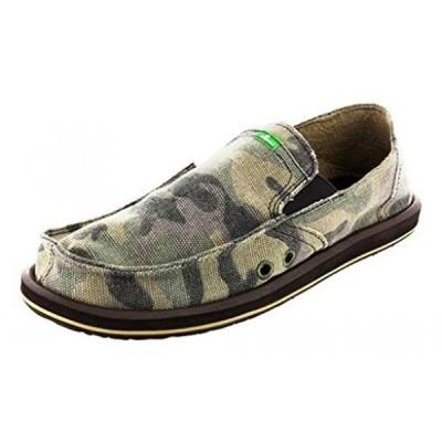 メンズサンダル サヌーク カジュアル Sanuk Pick Pocket Mens Shoes - 8.0/Camouflage 正規輸入品
