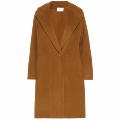 ヴィンス Vince レディース コート アウター Wool-blend coat Teakwood