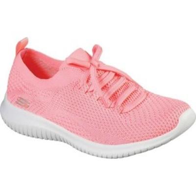 スケッチャーズ レディース スニーカー シューズ Ultra Flex Statements Sneaker Coral