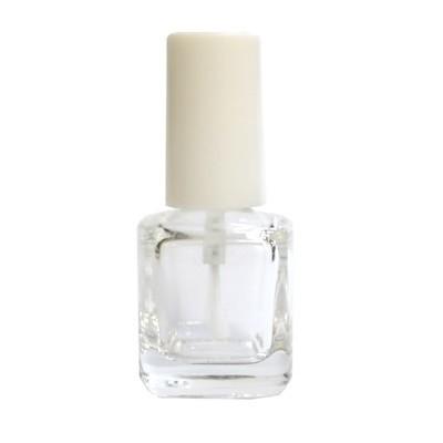 マニキュアボトル5ml用 刷毛の色はクリアホワイト/スペアボトル あると便利なネイル用空瓶