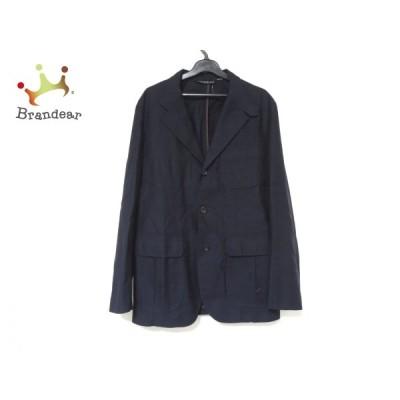 トゥモローランド ジャケット サイズ46 XL メンズ 美品 - ダークネイビー 長袖/春/秋   スペシャル特価 20210227