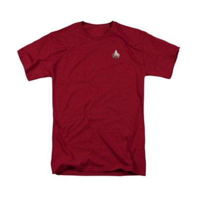 Tシャツ スタートレック Star Trek Next Generation Command Emblem Licensed Adult T Shirt
