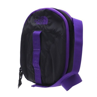 新品 ザ・ノースフェイス パープルレーベル THE NORTH FACE PURPLE LABEL CORDURA Nylon Shoulder Pouch KP(BLACKxPURPLE) 新作 277002624011 グッズ
