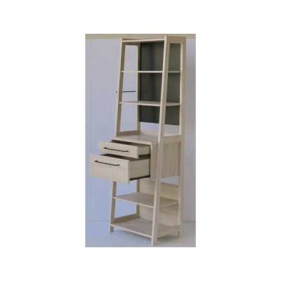 組立家具/60キッチンラック Lily 北欧風を意識した収納キッチンシリーズ