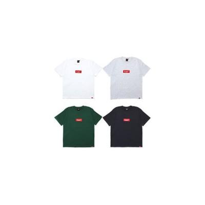 ミューラル MURAL ヘビーウェイト Tシャツ メンズ M-XXL ブラック/ホワイト/グレー/グリーン カットソー 半袖 BOX LOGO T-SHIRT