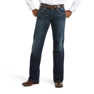 アリアト メンズ デニムパンツ ボトムス Coltrane Straight-Fit Stretch Jeans Nightingale