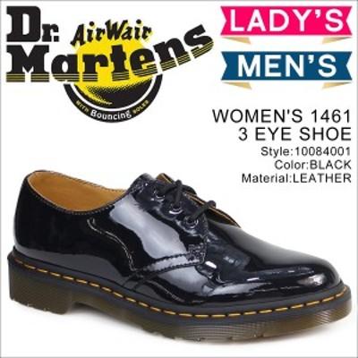 ドクターマーチン Dr.Martens 3ホール 1461 レディース オックスフォード シューズ WOMENS 3EYE SHOE R10084001 ブラック メンズ