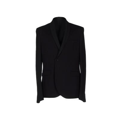 パトリツィア ペペ PATRIZIA PEPE テーラードジャケット ブラック 48 レーヨン 69% / ナイロン 25% / ポリウレタン 6%