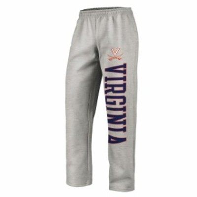 Fanatics Branded ファナティクス ブランド スポーツ用品  Fanatics Branded Virginia Cavaliers Gray Sideblocker Fleece Pants
