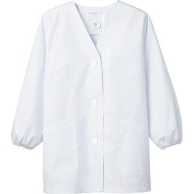 調理衣 1-011 レディース 長袖 抗菌 O-157対応 厨房白衣 厨房服 調理服 板前服 飲食 和食 住商モンブラン