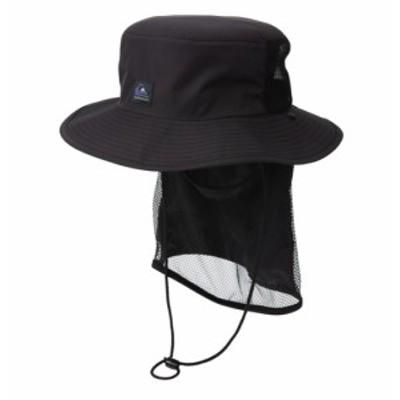 Quiksilver クイックシルバー UPF50+ 撥水 ネックガード付き 日焼け防止SUPキャンプハット UV SUP CAMP HAT