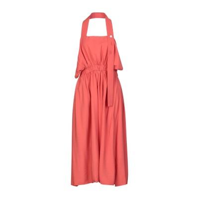 CREA CONCEPT ロングワンピース&ドレス コーラル 38 レーヨン 83% / ナイロン 17% ロングワンピース&ドレス