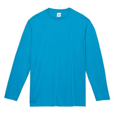 キッズ ジュニア 子供服 Tシャツ 長袖 ヘビーウェイト 5.6オンス 無地 ターコイズ 130cm サイズ 102-CVL
