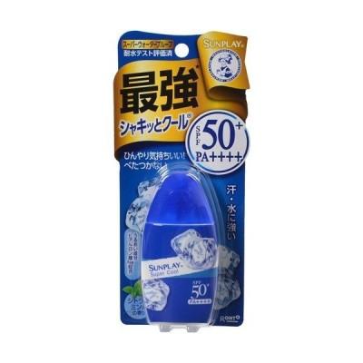「ロート製薬」 メンソレータム サンプレイ スーパークール   30g 【日やけ止め】