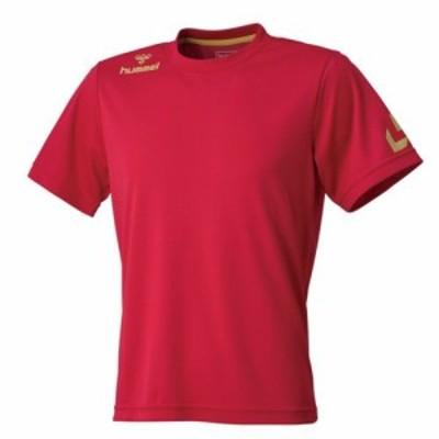 (ヒュンメル)Hummel ジュニアワンポイントドライTシャツ HJY2057 21 チリペッパー 130