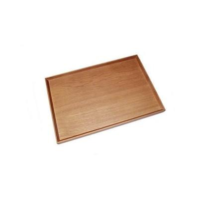 木製トレー 木のトレイ 木製トレイ カフェトレー ウォールナット 長方形 お盆 トレイ おしゃれ お盆 天然木 ウッドプレート ランチトレイ